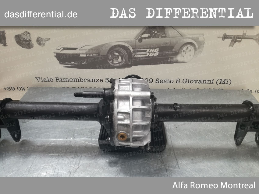 Differentialgetriebe Alfa Romeo Montreal