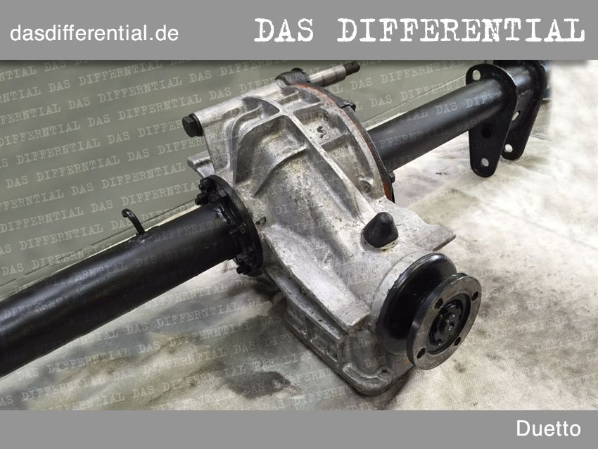 differential alfa romeo duetto 2