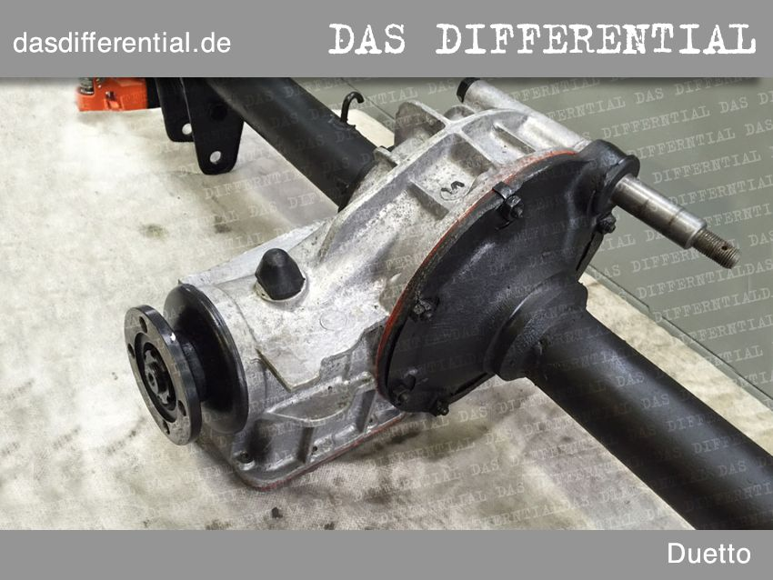 differential alfa romeo duetto 3