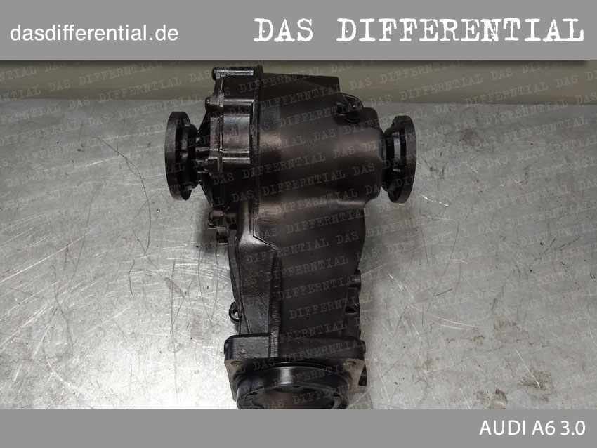 AUDI A6 3 0 das differential heck 1