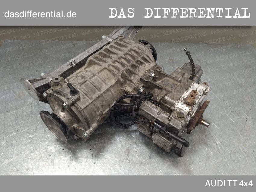 AUDI A6 3 0 das differential heck 4