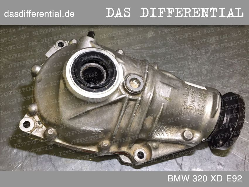 differential bmw 320 xd e92 front 2