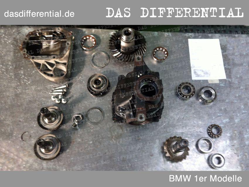 differential bmw 1ermodelle abmontiert