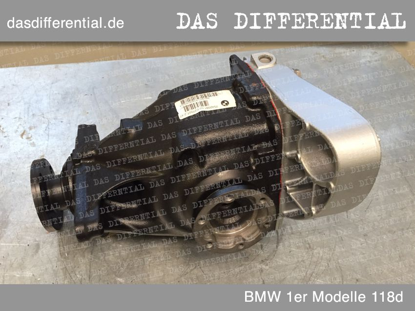 differential bmw 1ermodelle hintere 1 118d