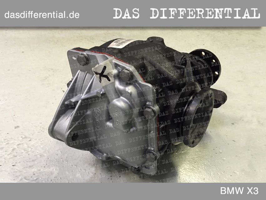 differential bmw x3