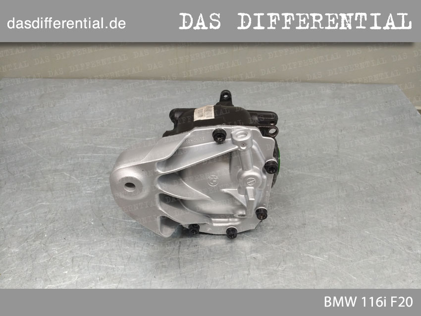 das differential BMW 116i F20 3