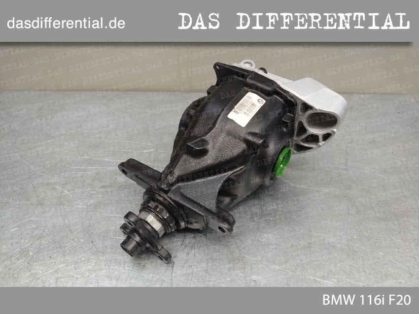 das differential BMW 116i F20 4