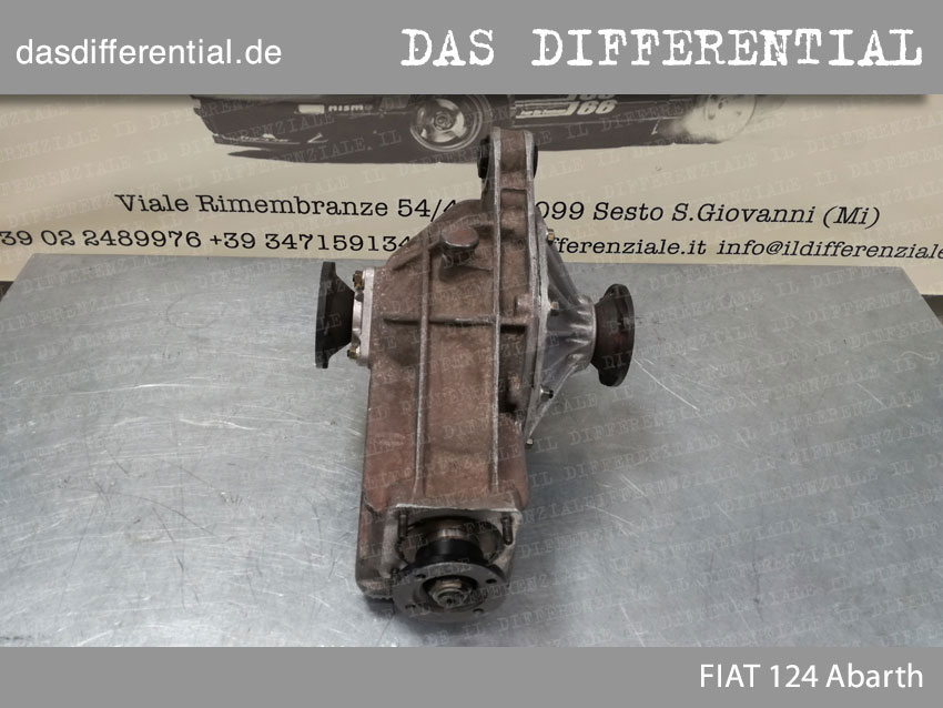 Fiat 124 Abarth HECK DIFFERENTIAL 1