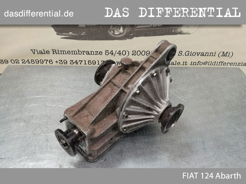 Fiat 124 Abarth HECK DIFFERENTIAL 2
