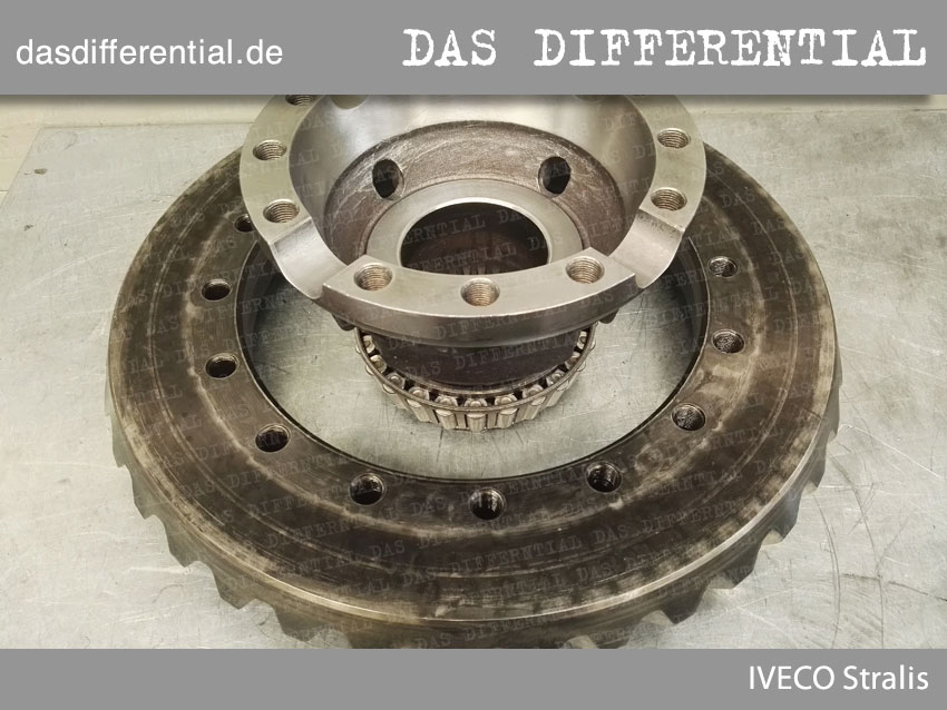 Das differential IVECO Stralis 2