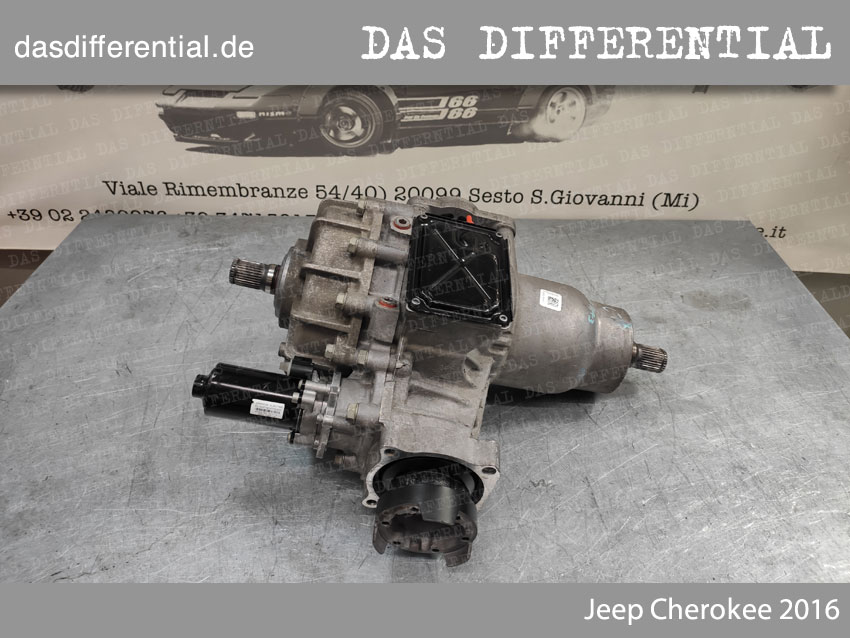 Jeep Cherokee 2016 Heck Differential 1