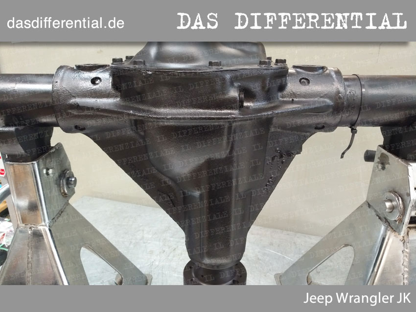 Jeep Wrangler JK heckdifferential 1