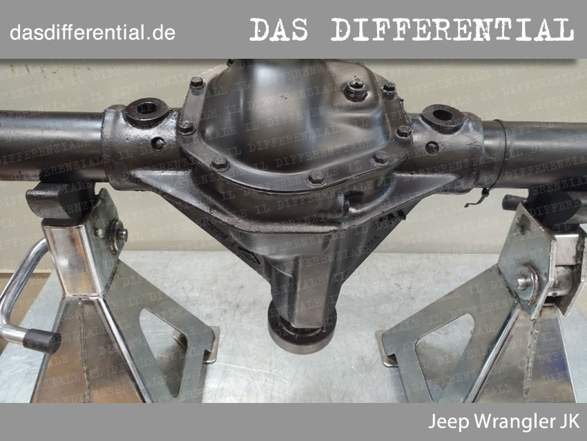 Jeep Wrangler JK heckdifferential 3