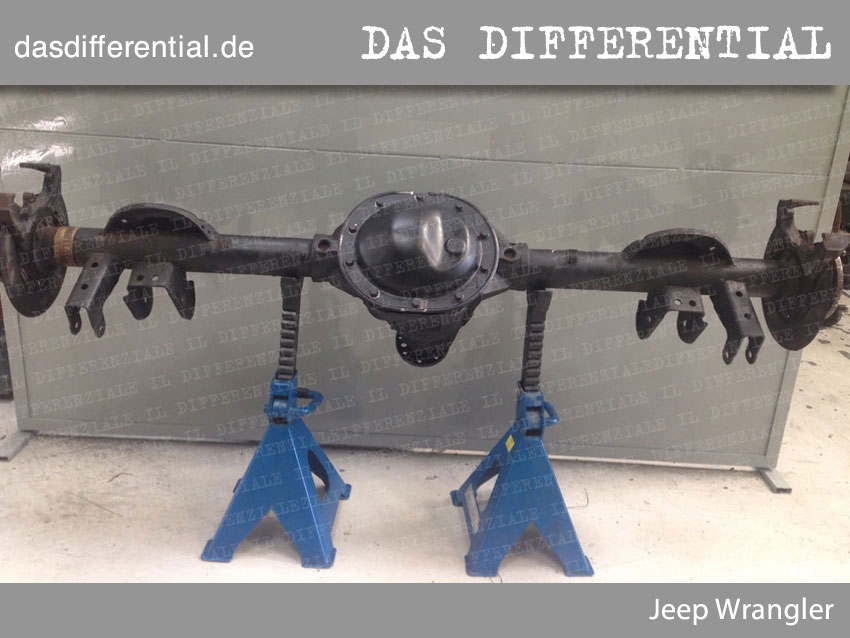 Jeep Wrangler heckdifferential 1