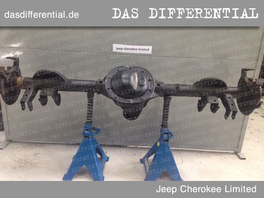 differential jeep cherokee limited