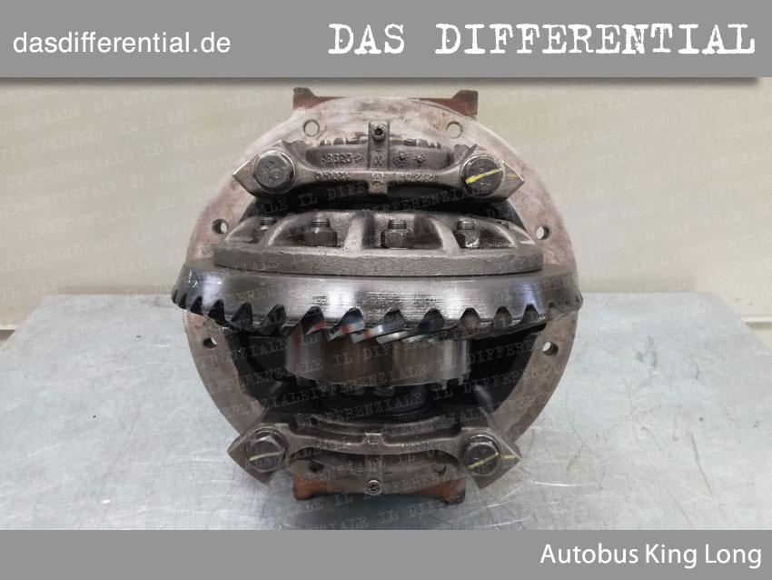 Autobus King Long heck differential 1