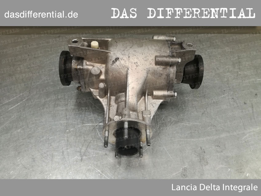 Lancia delta integrale heck differential 3
