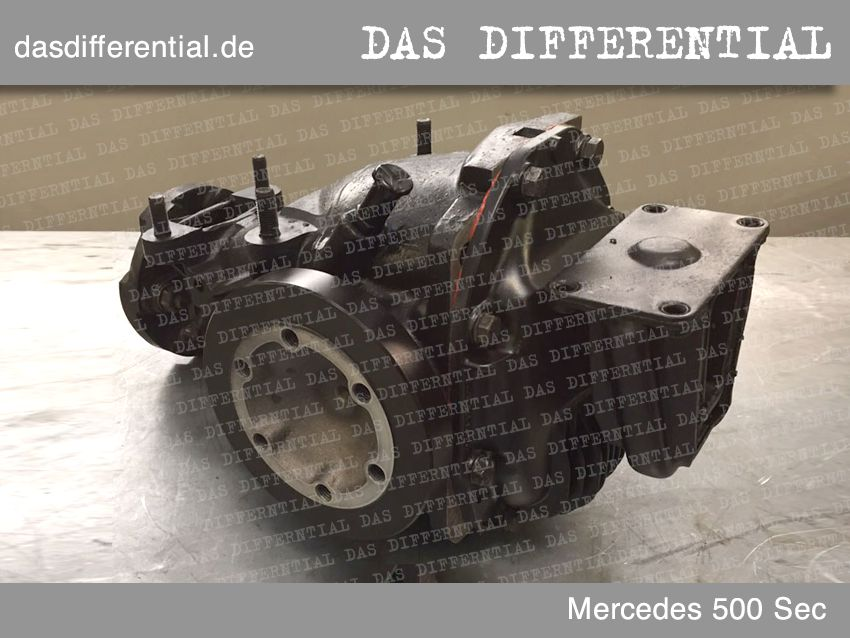 differential mercedes 500 sec 1