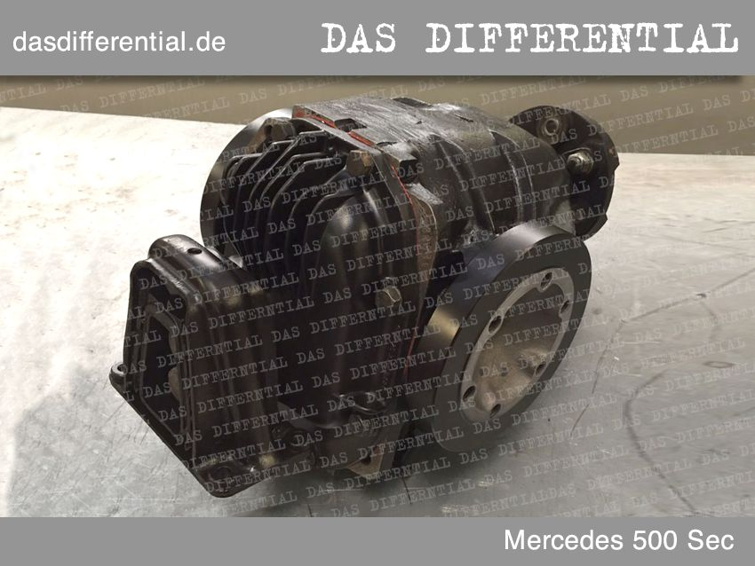 differential mercedes 500 sec 2