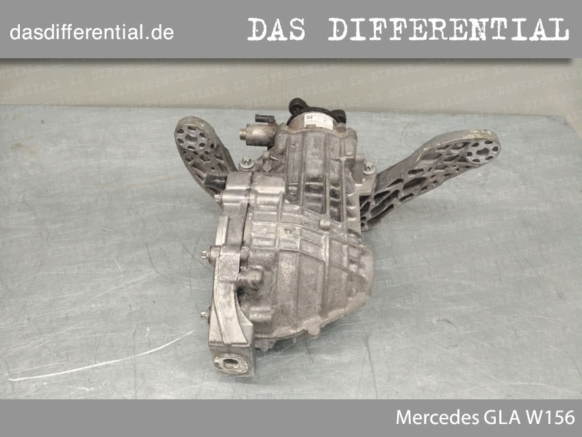 Heck Differential Mercedes GLA W156 3