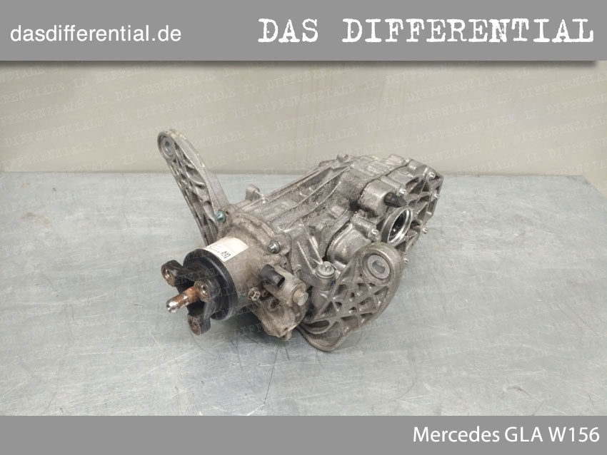 Heck Differential Mercedes GLA W156 5