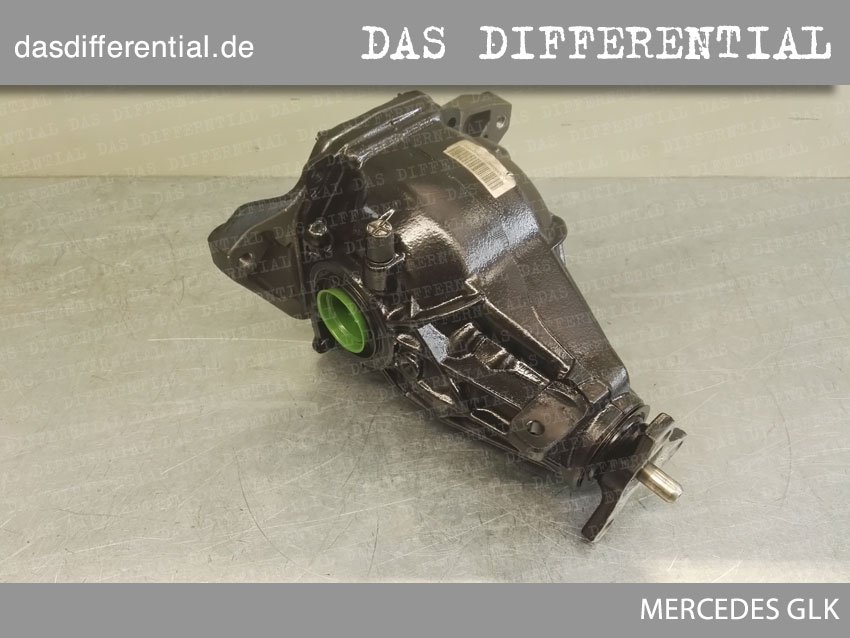 Heck Differential Mercedes GLK 3