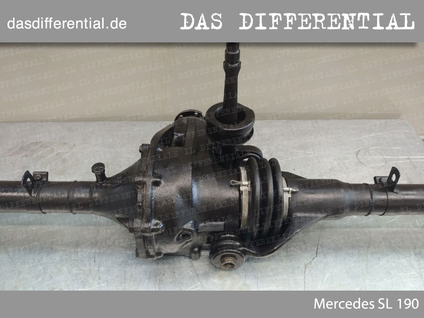 Heck Differential Mercedes SL 190
