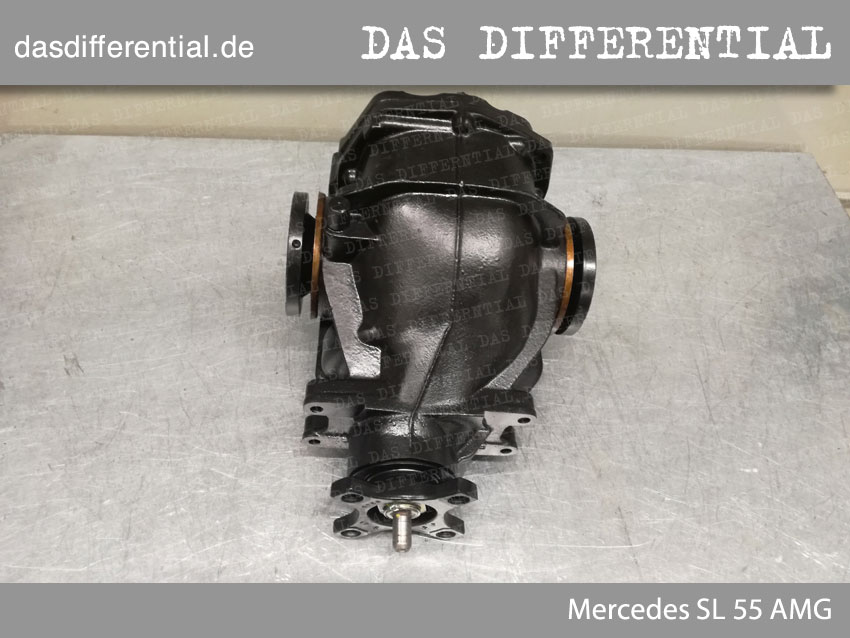 Heck Differential Mercedes SL 55 AMG 3