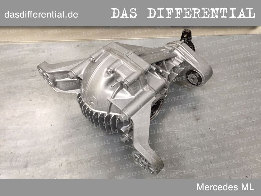 differential mercedes ml hintere