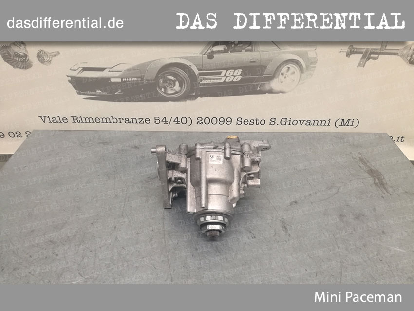 Mini Paceman Front Differential 1