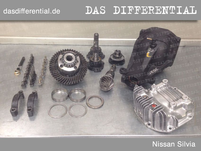 differential nissan silvia abmontiert