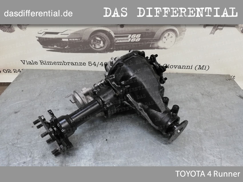 Front Differentialgetriebe Toyota 4 runner 2