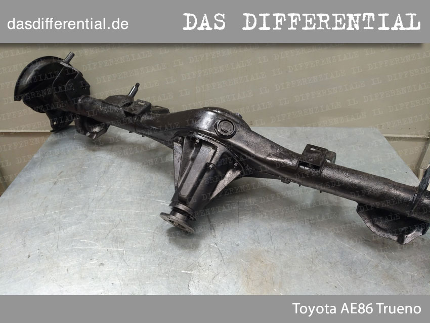 Toyota AE86 Trueno HECK DIFFERENTIAL 2