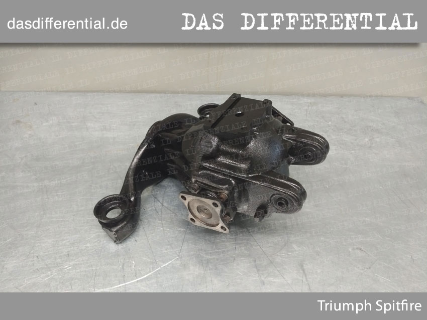 Triumph Spitfire 1977 HECK DIFFERENTIAL 4