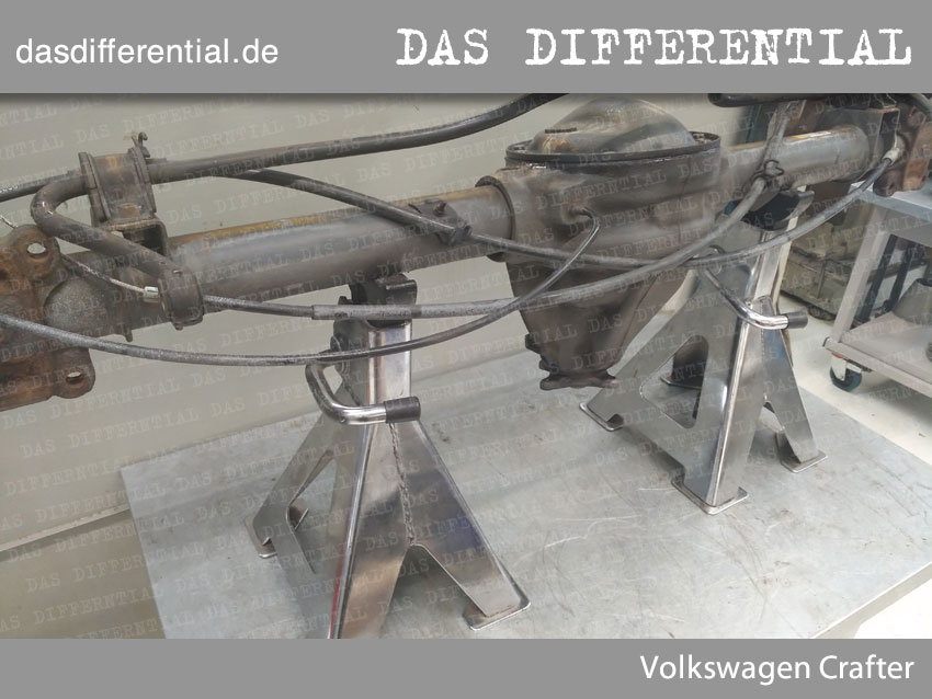 differential Volkswagen Crafter 3